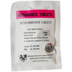 10 x METHANABOL 100 x 10mg tablets BD