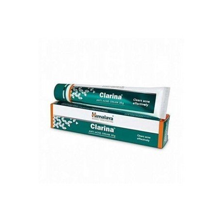 Himalaya Clarina Anti-Acne Pimple Face Cream, Post Cycle, Spots, Scars, Lesions 30g