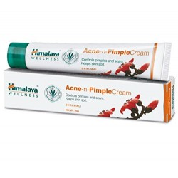 HIMALAYA ACNE-N-PIMPLE CREAM For Spots Blackheads Blemish Treatment 20g