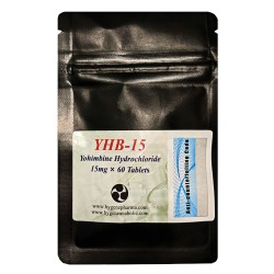 Yohimbine Hcl 15mg x 60 tablets