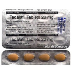 Cialis Double Strength 20mg per tab, 10 tabs